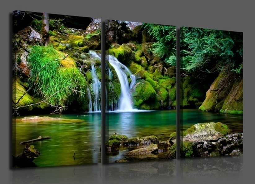 Aliexpresscom Buy 3 panels Hot Sell White mountain spring water