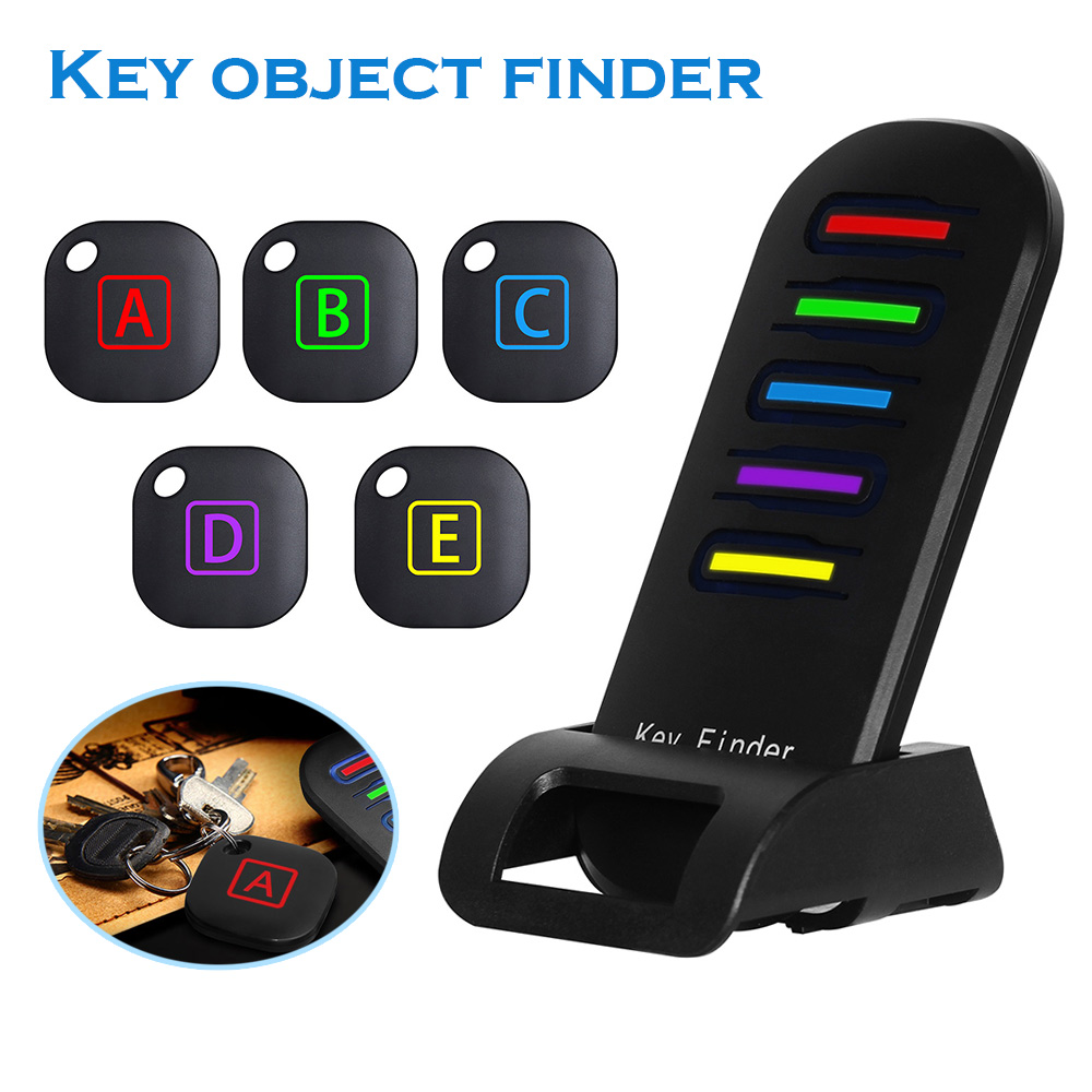 Wireless Key Finder Item Locator Anti Lost Transmitter Receivers For Phone Wallets LCC77 phone finder bracket 58 98mm phone holder with dovetail plate for telescope phone finder for vixen skywatcher