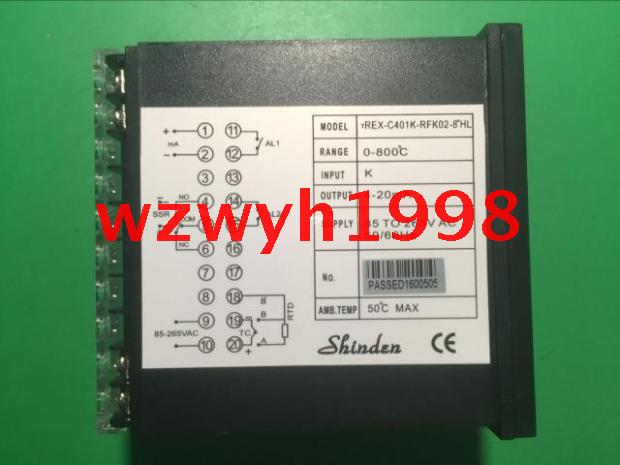 SHINDEN genuine TREX-C401K-RAFK02-8 * HL temperature controller TREX-C401K-RA