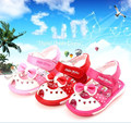 Children's sadals new 2015 summer baby shoes first walkers pearl bowknot princess girls sandals kids toddler shoes