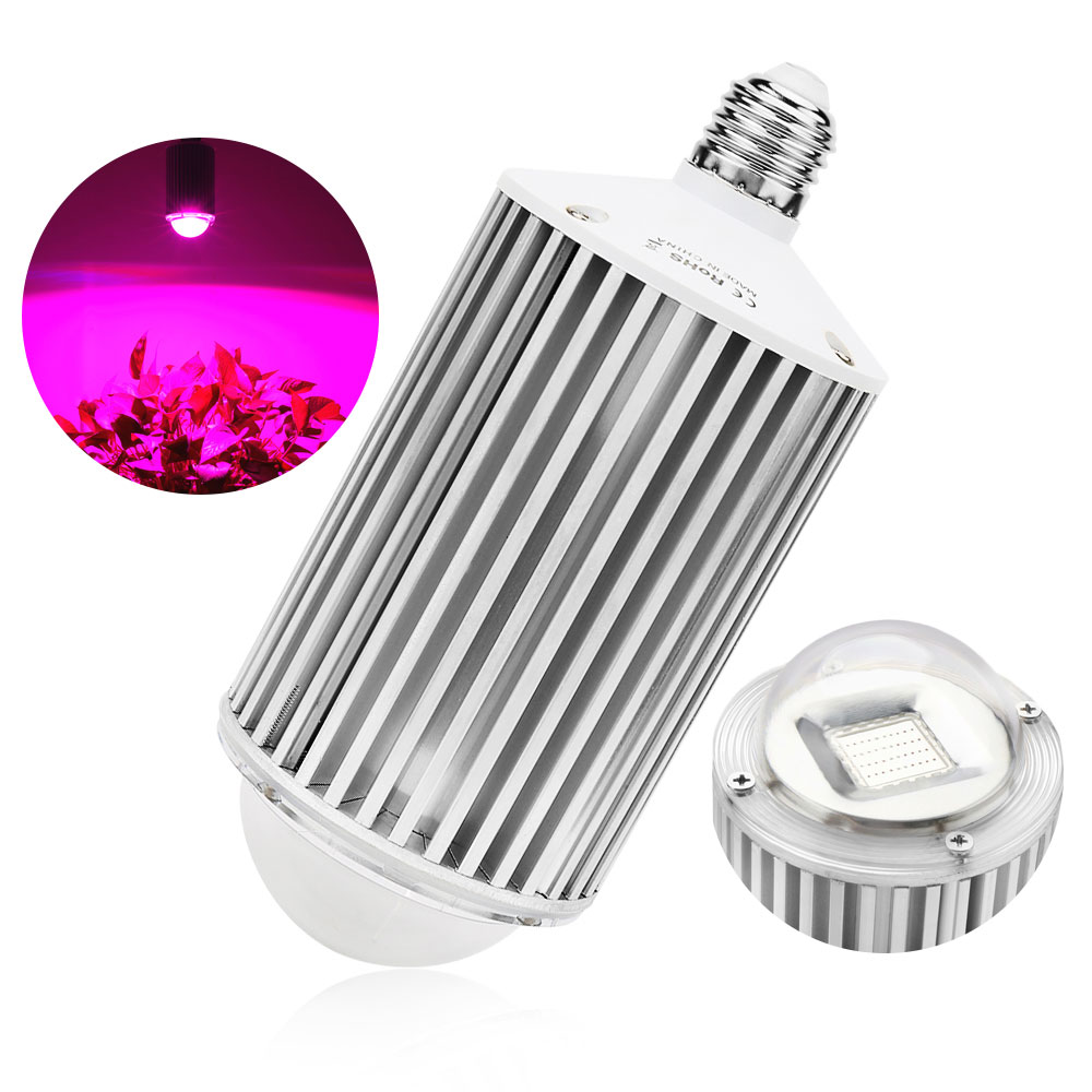 E27 120W COB LED Grow Light Full Spectrum Plant Lamp For Indoor Greenhouse Hydroponic Plant Flower Vegetable Herb High Yield hydroponic led grow light indoor plant growing tent for plants full spectrum vegetable grow light tube lamp 110v 220v t8 600mm