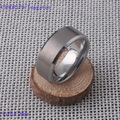 8MM Brushed Bevel Dedge Classic TUNGSTEN Carbide Wedding Engagement Ring Never Scratched CXSOR179