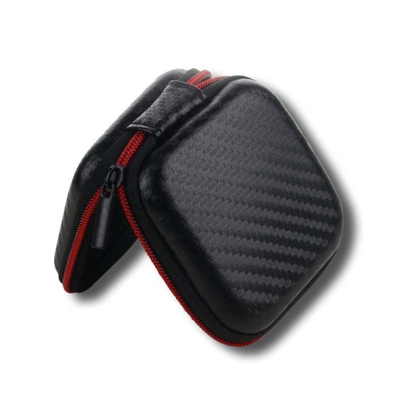 Mini Multifunction Earphones Storage Box Headset Data Line USB Cable SD Card Organizer Case Bag GDeals