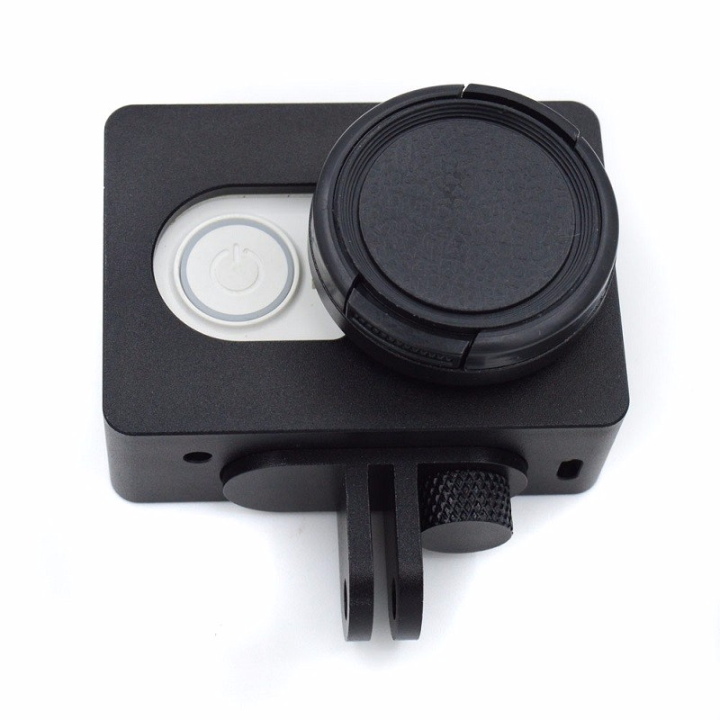 Sport-Camera-Accessories-Protective-Frame-Case-Lens-Cap-Cover-Aluminum-Alloy-for-Xiaomi-Yi-4K-Action (4)