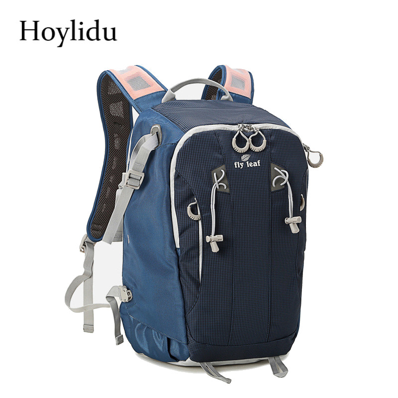 Hoylidu Professional Photography Anti-theft Waterproof Multi-functional Digital DSLR Camera Bag Large Capacity Design Backpack yingnuost d66 anti theft multifunctional waterproof backpack digital camera shoulder oxfords with inner bag large capacity