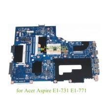 VA70 VG70 NBMG711001 NB.MG711.001 Laptop motherboard For acer aspire E1-731 E1-771 intel HD4000 graphics Mainboard