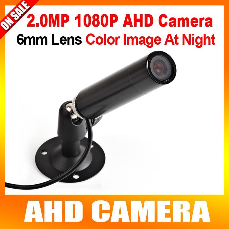 HD 2MP Mini Bullet AHD font b Camera b font 1920 1080P Outdoor 6mm Lens CCTV