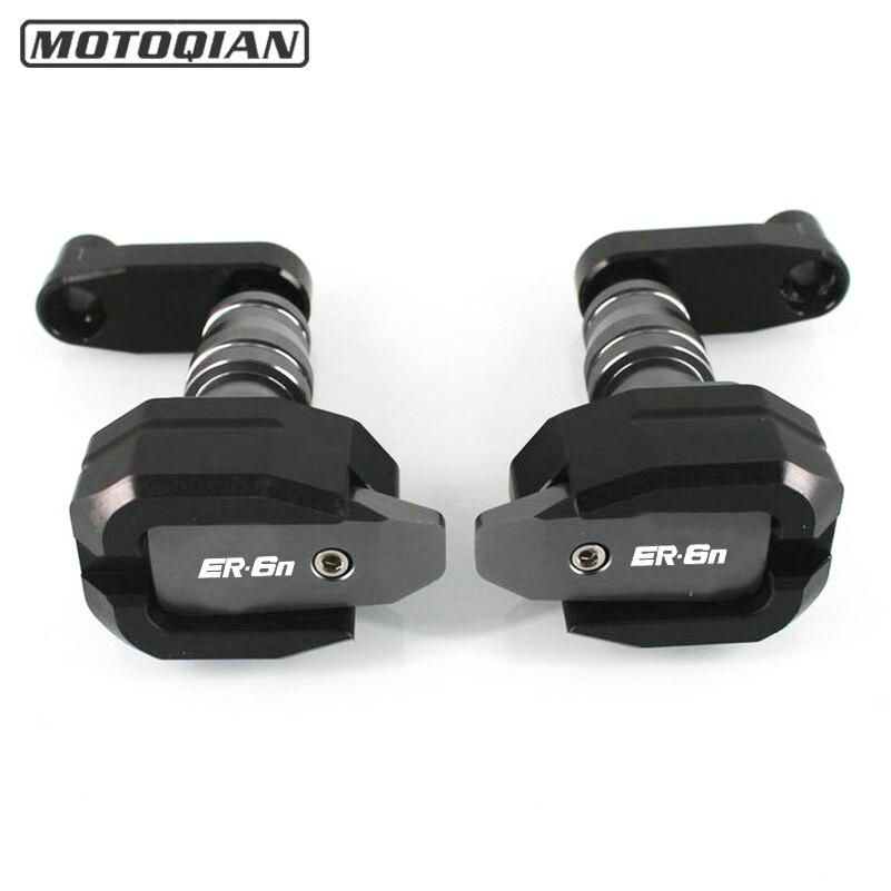 Pour Kawasaki ER 6N ER6N Moto Cadre Sliders Carénage Garde Crash Pads Moto Accessoires Moto Pièces