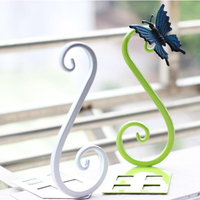 Iron Creative Books Bookends Bookshelf Simple And Elegant Swan Shape Book Holder