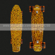 New 2016 longboard sale 22 Mini skate trucks deskorolka professional fish children skateboard for kids plastic