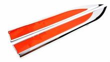 1 Par Faca Side Car Auto Fender Emblema Emblema Adesivo Decalque Para Toyota Trd Sport