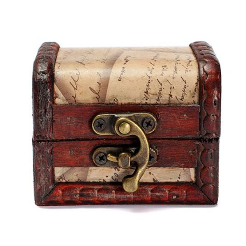 Vintage St& Small Metal Lock Jewelry Treasure Chest Case Handmade Wooden Box-in Jewelry Packaging u0026 Display from Jewelry u0026 Accessories on Aliexpress.com ...  sc 1 st  AliExpress.com & Vintage Stamp Small Metal Lock Jewelry Treasure Chest Case ... Aboutintivar.Com