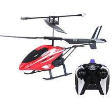 2.5 Helicóptero Del Canal de Luz de Metal Radio Control Rc Drone I/R RC Control Remoto de Juguete Regalos Kids helicoptero