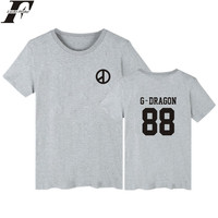 LUCKYFRIDAYF Bigbang Cotton T-shirts Men's Short Sleeve Summer Printed T shirt Women Cotton XXS 4XXL Funny Plus Size