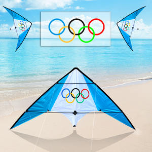1.9m dual stunt kites line outdoor flying toys