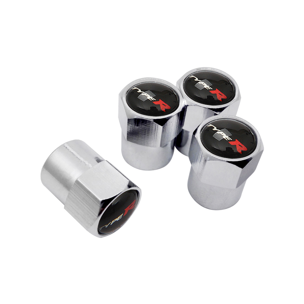 10Pcs Schrader Valve Stem Caps Cover Rim Wheel Tire Air Valve Dust Cover