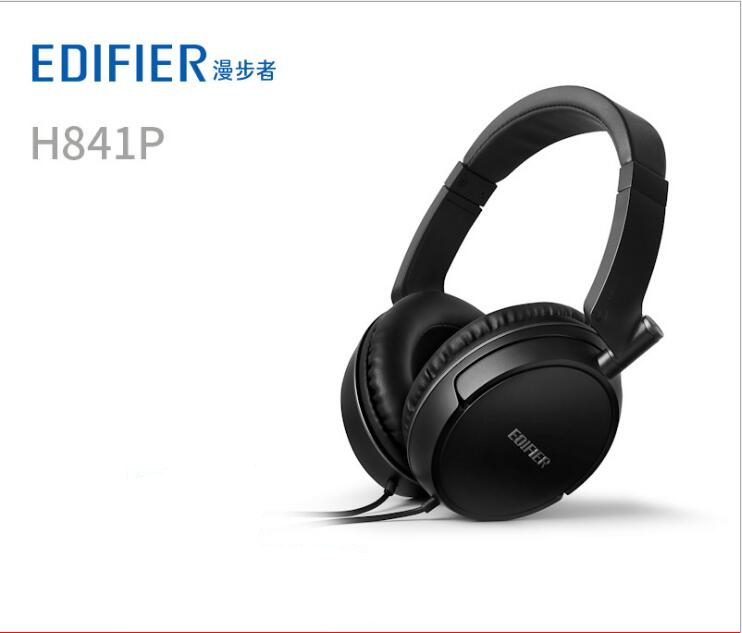 EDIFIER H841P HIFI subwoofer music headphones tri-band balanced, sound quality natural, delicate and transparent Brand NewEDIFIER H841P HIFI subwoofer music headphones tri-band balanced, sound quality natural, delicate and transparent Brand New
