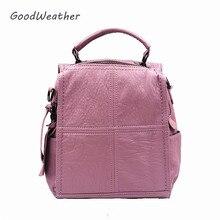 Мода милый маленький розовый рюкзак женский Дизайнер Высокое качество Натуральная кожа рюкзаки для путешествий повседневная женская обувь сумка рюкзак женский сумки из натуральной кожи