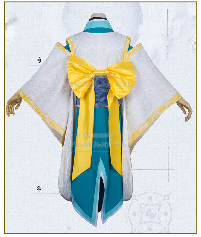 Fate grand order Kiyohime cosplay costume Halloween anime dress free shipping High quality anime fate grand order ibaraki doji kimono uniform cosplay costume halloween clothes full set for women free shipping