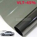 50 CM X 300 CM/Lot Side Car Window Tint Film Vidrio VLT 45% 2PLY Coche Automático Casa Comercial Protección Solar Del Verano POR EL Envío libre