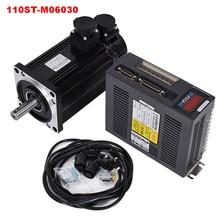 6N. M 3000 кВт об/мин 110ST AC Серводвигатель 110ST-M06030+ совпадающий Серводвигатель+ кабель полный комплект двигателя