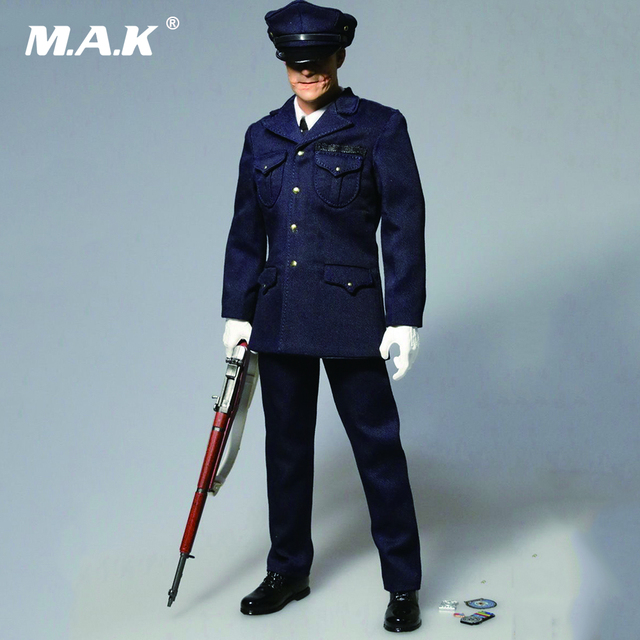 """1/6 Joker Heath Police Suit With Head Sculpt Models for 12"""" Male Body Action Figures"""
