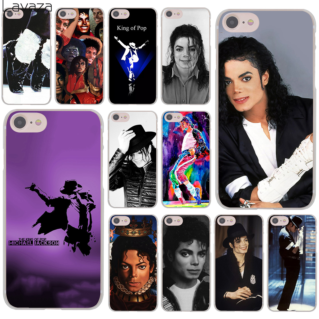 کیف رقص Lavaza Michael jackson Music Cover Case for iPhone XR X 11 Pro XS Max 8 7 6 6S 5 5S SE 4S 4 10