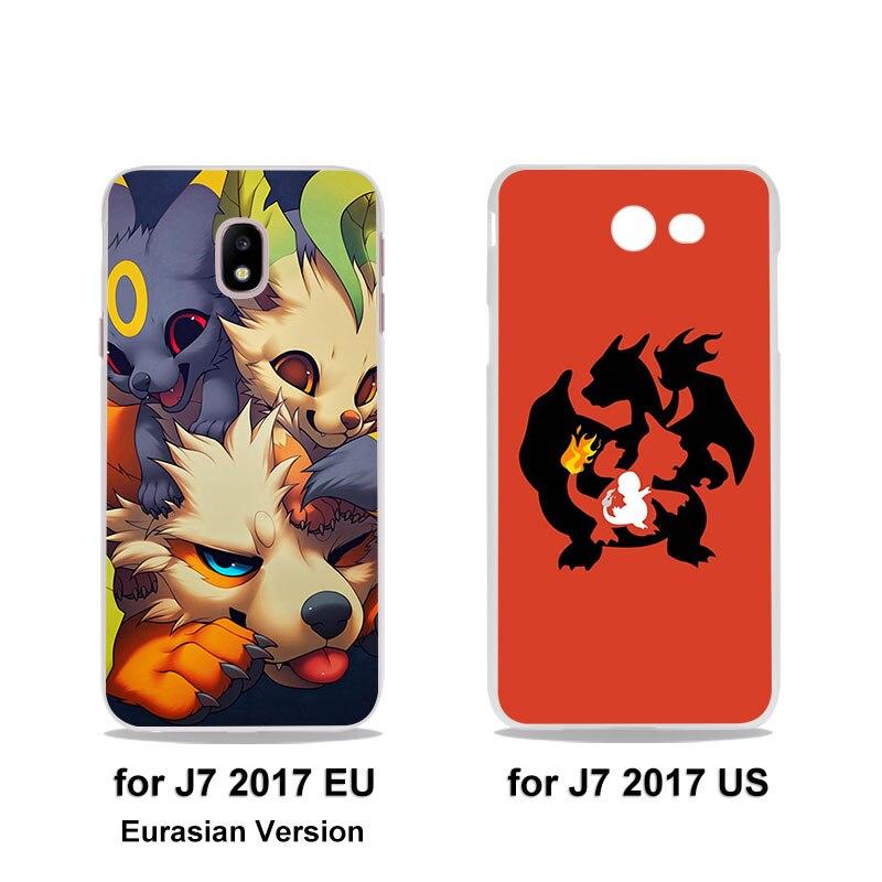 Popular Adventure Time pokeballs popeyes anime (hard clear phone Case for Samsung Galaxy J5(2017) J7(2017) J510 J710 J2 Prime J3