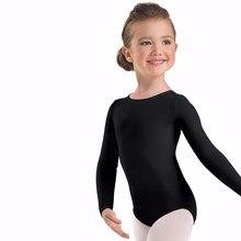 цены на Speerise Toddler Long Sleeve Gymnastics Leotard for Girls Pink Lycra Spandex Leotard Bodysuit Ballet Dance Costumes for Kids  в интернет-магазинах