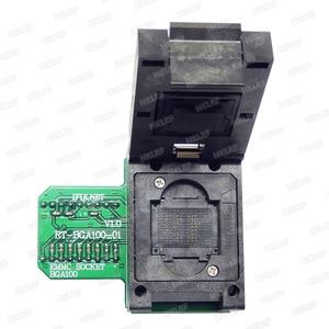 Image 2 - BGA100 מיוחד EMMC מתאם עבור RT809H מתכנת RT BGA100 01 שקע מקורי חדש משלוח חינם