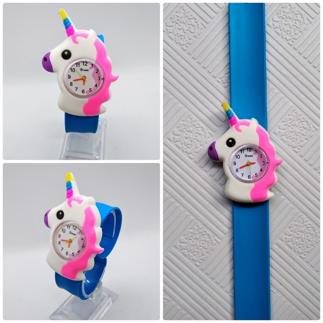 relogio masculino Pony pattern Kids Watches Pat Pat Watch LED Electronic Sports Watch children watch hot sale hour baby clock E7