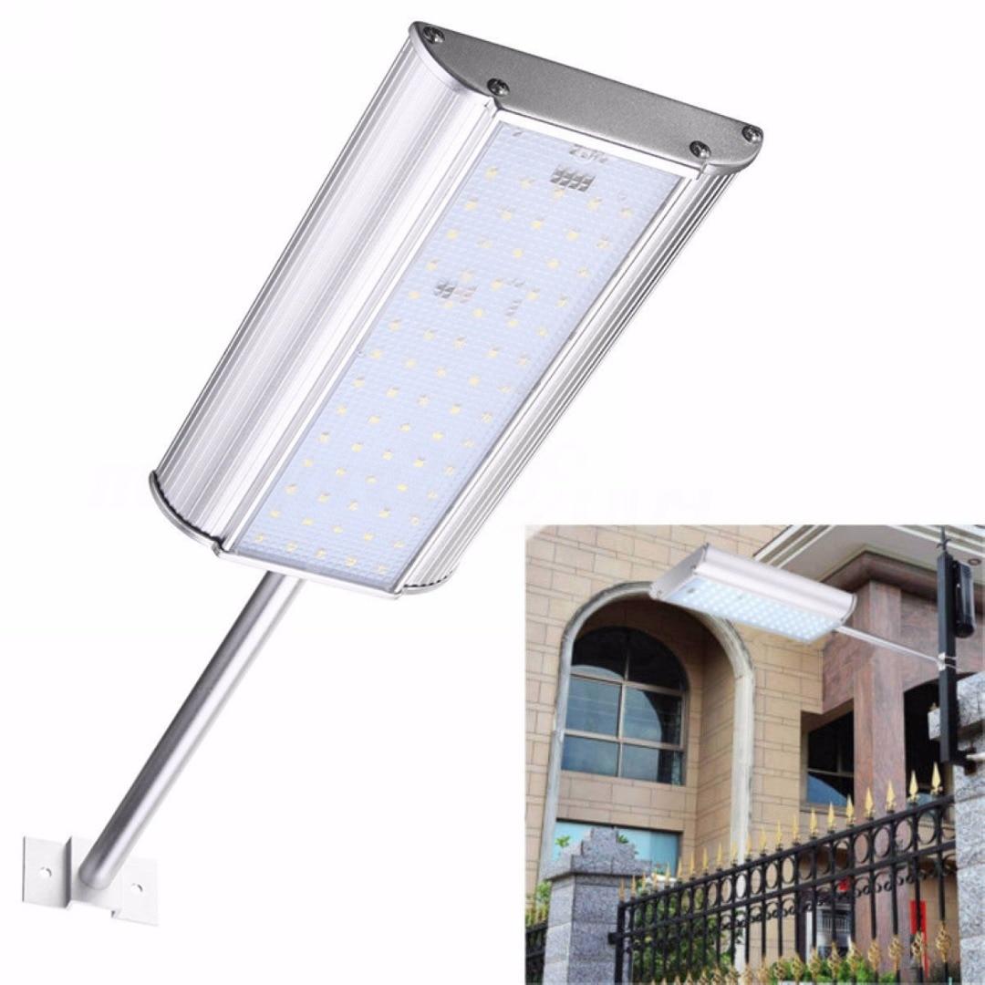 Waterproof Solar 70 LED Motion Sensor Light Outdoor Garden Path Street Wall Lamp