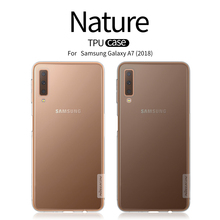 For Sansung Galaxy A7 2018 a750 Case Cover NILLKIN Ultra Thin Slim TPU Fitted Cases A750