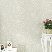 Beibehang Wallpaper Simple And Modern Plain Solid Color Small European Flower Full Of 3d Wall