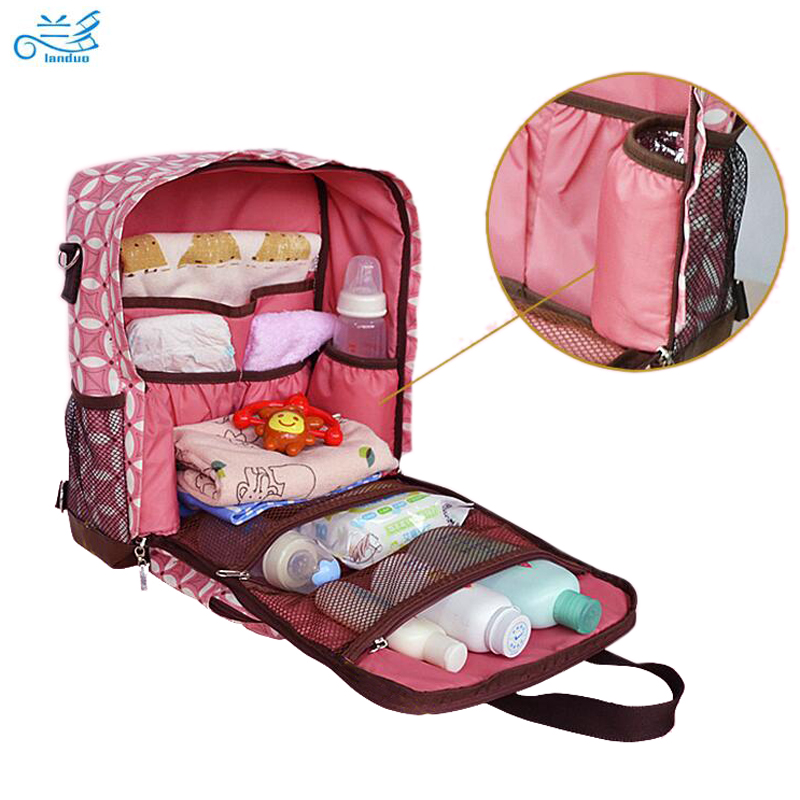 buy landuo baby diaper bags baby nappy bag backpack handbag nappy bags. Black Bedroom Furniture Sets. Home Design Ideas
