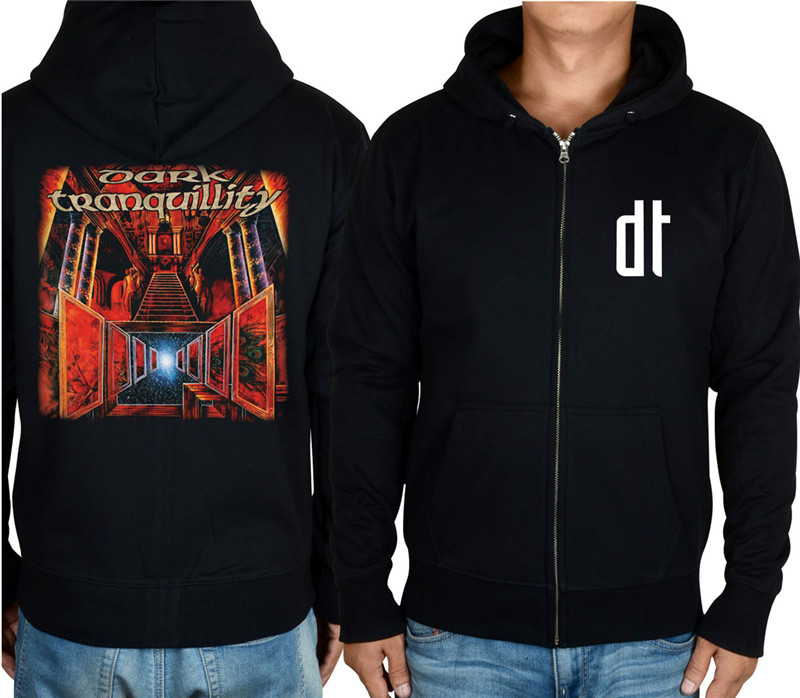 18 видов молнии темное спокойствие группа рок толстовки куртка с черепом 3D брендовая рубашка панк смерти темный свитер в стиле хеви-метал XXXL - Цвет: 5