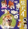 Japanese Pets original Capsule toys Shiba Inu Collection part 4 Akita cute dog kawaii puppies 6 sets gashapon figures