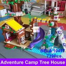 2016 BELA 10497 Briques de Construction Compatible Lepin Amis Blocs Aventure Camp Arbre Maison 41122 Emma Mia Figure Jouet Pour Enfants