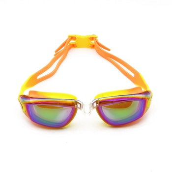 9526ad2239 Gafas de natación de niño adolescente Anti-niebla profesional de silicona  impermeable arena piscina nadar gafas de natación gafas nuevo