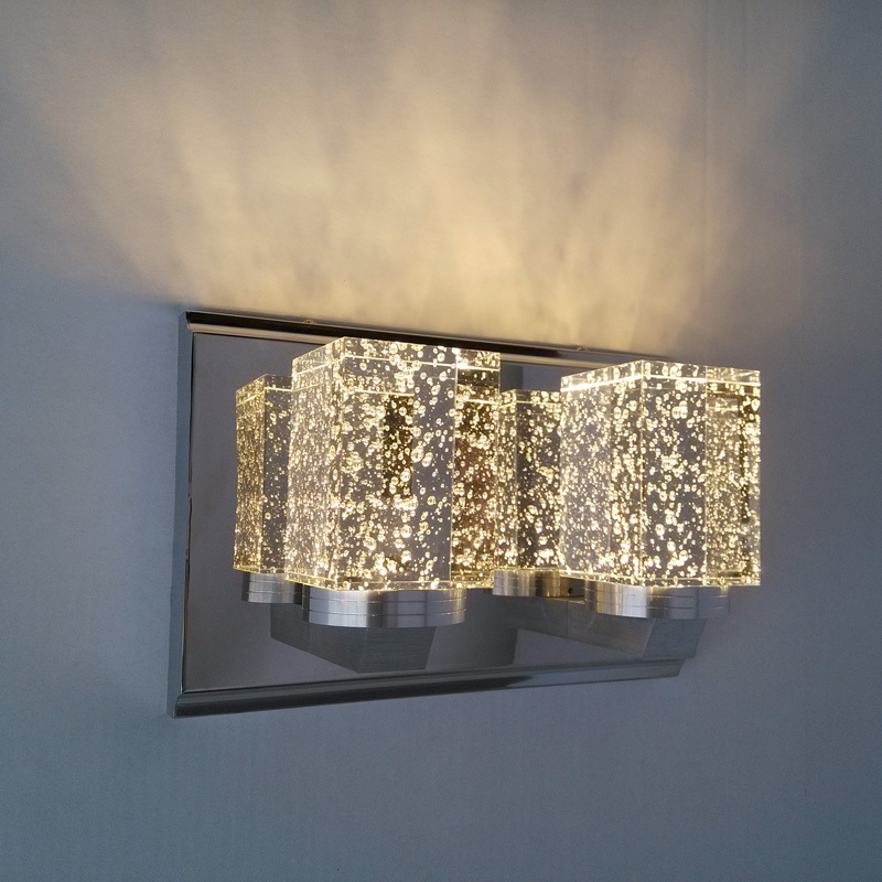 Best Crystal Wall Lights : Led crystal modern brief bedroom bedside lamp crystal wall lamp lights crystal lighting www.top ...