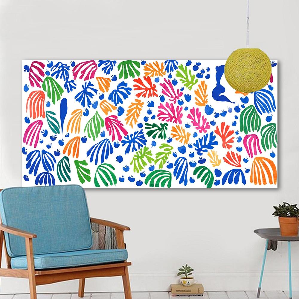 Aliexpress.com: Compre HDARTISAN Canvas Wall Art Pictures For Living Room  Henri Matisse Pintura Cuadros Decoracion Recortes Home Decor Impresso De  Confiança ... Part 76