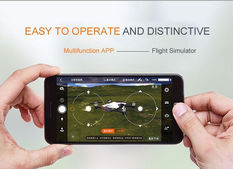 Wingsland S6 Pocket Selfie Drone Camera