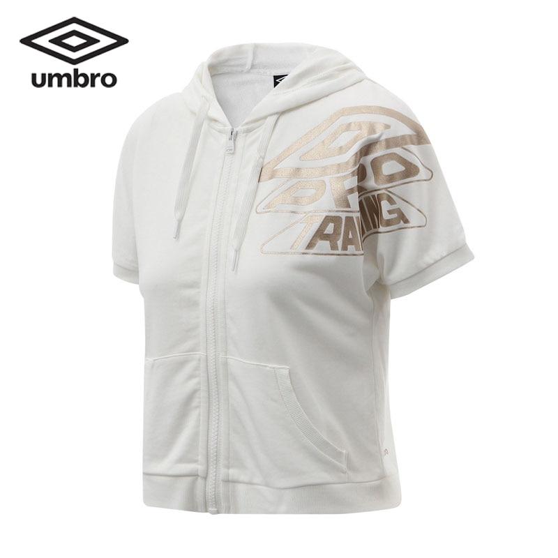Umbro Umbro2017 New Women Short Sleeved Shirts Summer Hats Zipper Hooded Hoody Tops Sweatshirts UCC63246