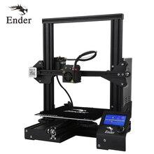 Ender-3 3D принтер DIY комплект большой размер печати Prusa i3 принтер 3D Ender 3/Ender-3X продолжение печати мощность 110 очаг 220*220*250