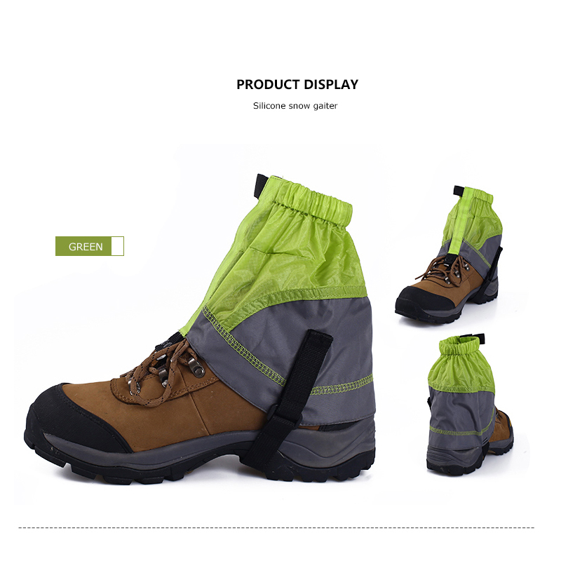 Ultralight Waterproof Legging Gaiters Protective Cover Outdoor Hiking Climbing
