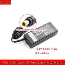 цена на Genuine 19.5V 5.65A Ac Adapter for Lg 29EA93-P HX300G HW350T M2631D HU10634-1100 HX300G-JE LCD Monitor 27EA83R 29UM58-P HW300Y