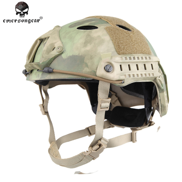 Emersongear POM FAST Helmet PJ Type Tactical Military Airsoft Helmet Protective Gear EM5668G ATFG