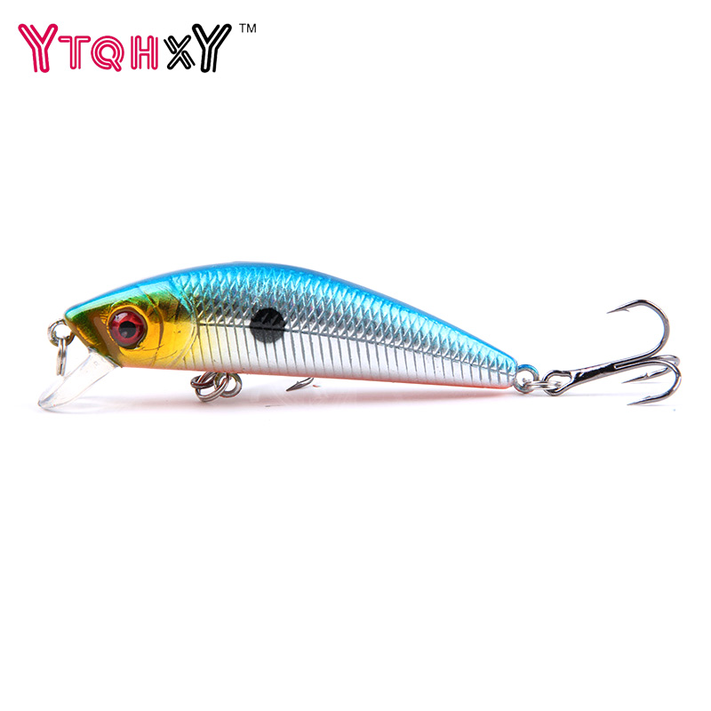 1Pcs Minnow Fishing Lure 7CM 8.5G iscas artificiais para pesca Fish Wobbler Tackle Crankbait Swimbait fishing tackle YE-9Y