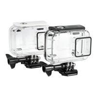 Unterwasser 45m Wasserdichte Schutz Gehäuse Fall Für Xiaomi Yi 2 4k Action Kamera für tauchen surfen skifahren yacht