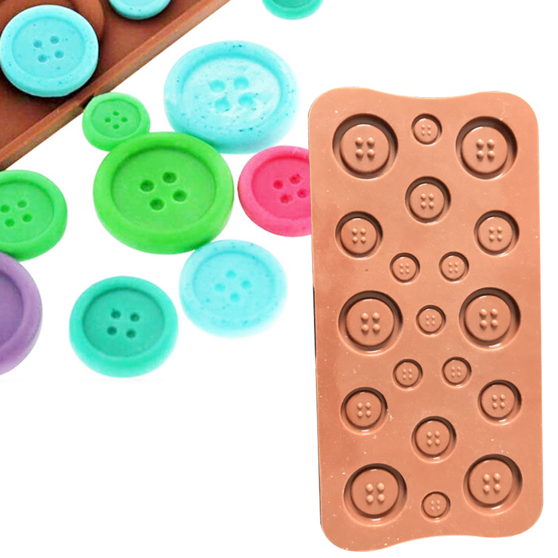 Cake Silicone mold Shape 3D Silicone Fruit Chocolate Mold Candy Cookie Baking Fondant Mold Cake Decoration Tools 2 Colors